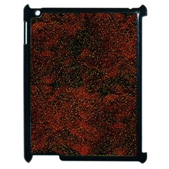 Olive Seamless Abstract Background Apple iPad 2 Case (Black)