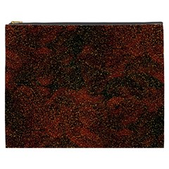 Olive Seamless Abstract Background Cosmetic Bag (xxxl)