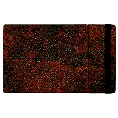 Olive Seamless Abstract Background Apple iPad 2 Flip Case