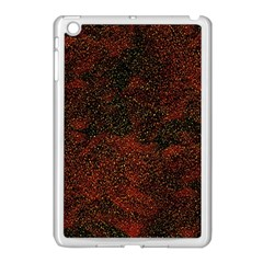 Olive Seamless Abstract Background Apple iPad Mini Case (White)