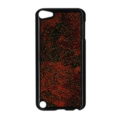 Olive Seamless Abstract Background Apple Ipod Touch 5 Case (black)