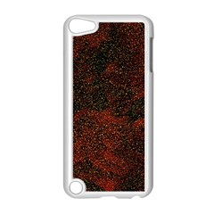 Olive Seamless Abstract Background Apple iPod Touch 5 Case (White)