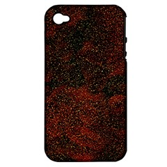 Olive Seamless Abstract Background Apple Iphone 4/4s Hardshell Case (pc+silicone)