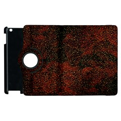 Olive Seamless Abstract Background Apple Ipad 2 Flip 360 Case