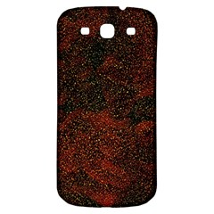 Olive Seamless Abstract Background Samsung Galaxy S3 S Iii Classic Hardshell Back Case