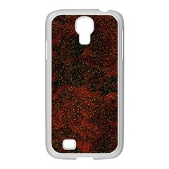 Olive Seamless Abstract Background Samsung GALAXY S4 I9500/ I9505 Case (White)