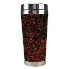 Olive Seamless Abstract Background Stainless Steel Travel Tumblers