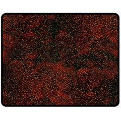 Olive Seamless Abstract Background Double Sided Fleece Blanket (Medium)