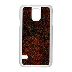 Olive Seamless Abstract Background Samsung Galaxy S5 Case (White)