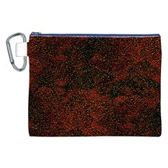 Olive Seamless Abstract Background Canvas Cosmetic Bag (xxl)