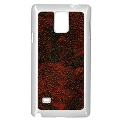 Olive Seamless Abstract Background Samsung Galaxy Note 4 Case (white)