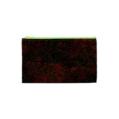 Olive Seamless Abstract Background Cosmetic Bag (xs)