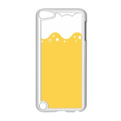Beer Foam Yellow White Apple Ipod Touch 5 Case (white)
