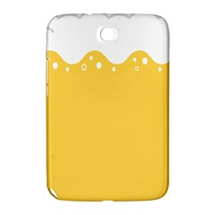 Beer Foam Yellow White Samsung Galaxy Note 8.0 N5100 Hardshell Case