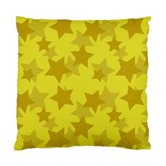 Yellow Star Standard Cushion Case (Two Sides)