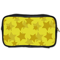 Yellow Star Toiletries Bags 2-Side