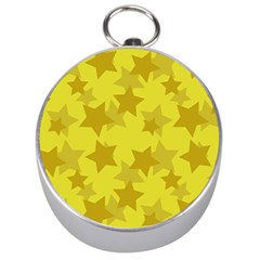 Yellow Star Silver Compasses