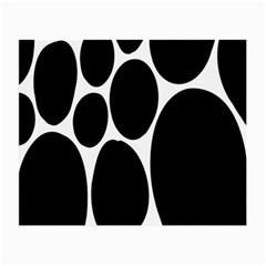 Dalmatian Black Spot Stone Small Glasses Cloth (2-Side)
