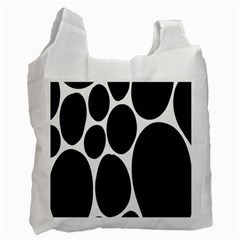 Dalmatian Black Spot Stone Recycle Bag (One Side)