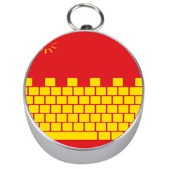 Firewall Bridge Signal Yellow Red Silver Compasses
