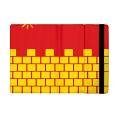 Firewall Bridge Signal Yellow Red iPad Mini 2 Flip Cases