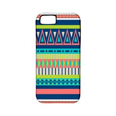 Aztec Triangle Chevron Wave Plaid Circle Color Rainbow Apple iPhone 5 Classic Hardshell Case (PC+Silicone)