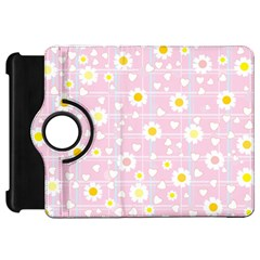 Flower Floral Sunflower Pink Yellow Kindle Fire HD 7