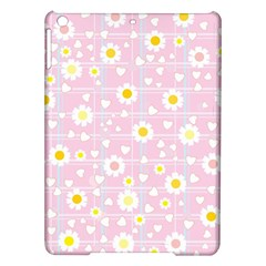 Flower Floral Sunflower Pink Yellow iPad Air Hardshell Cases