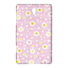 Flower Floral Sunflower Pink Yellow Samsung Galaxy Tab S (8 4 ) Hardshell Case