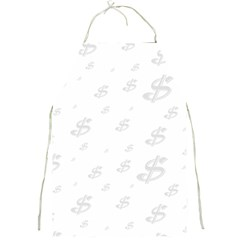 Dollar Sign Transparent Full Print Aprons