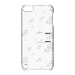 Dollar Sign Transparent Apple iPod Touch 5 Hardshell Case with Stand