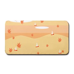 Dragonfly Leaf Orange Medium Bar Mats