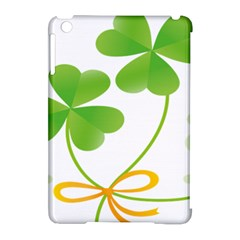 Flower Floralleaf Green Reboon Apple iPad Mini Hardshell Case (Compatible with Smart Cover)