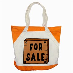 For Sale Sign Black Brown Accent Tote Bag