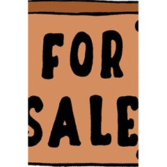 For Sale Sign Black Brown 5.5  x 8.5  Notebooks