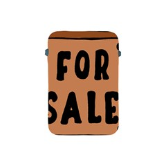 For Sale Sign Black Brown Apple iPad Mini Protective Soft Cases