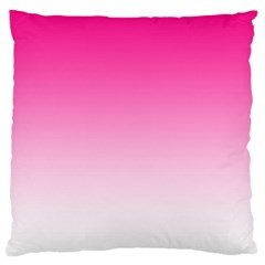 Gradients Pink White Large Cushion Case (two Sides)