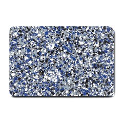 Electric Blue Blend Stone Glass Small Doormat