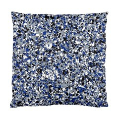 Electric Blue Blend Stone Glass Standard Cushion Case (Two Sides)