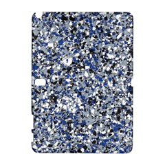 Electric Blue Blend Stone Glass Galaxy Note 1