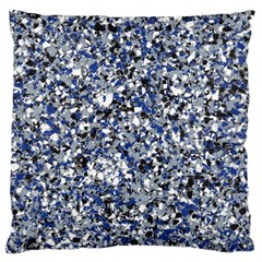 Electric Blue Blend Stone Glass Standard Flano Cushion Case (Two Sides)