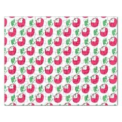 Fruit Pink Green Mangosteen Rectangular Jigsaw Puzzl