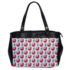 Fruit Pink Green Mangosteen Office Handbags