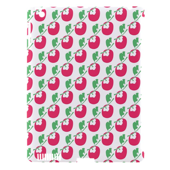 Fruit Pink Green Mangosteen Apple iPad 3/4 Hardshell Case (Compatible with Smart Cover)