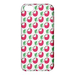 Fruit Pink Green Mangosteen Apple iPhone 5C Hardshell Case
