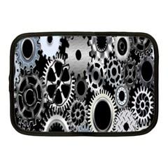 Gears Technology Steel Mechanical Chain Iron Netbook Case (Medium)