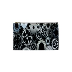 Gears Technology Steel Mechanical Chain Iron Cosmetic Bag (Small)