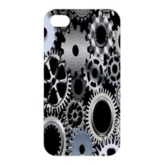 Gears Technology Steel Mechanical Chain Iron Apple iPhone 4/4S Hardshell Case