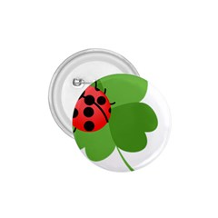 Insect Flower Floral Animals Green Red 1.75  Buttons