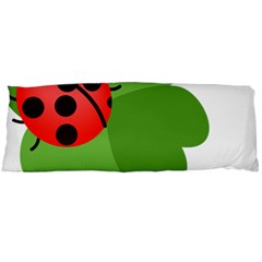 Insect Flower Floral Animals Green Red Body Pillow Case Dakimakura (Two Sides)